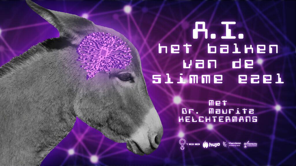 T Vrije Brein gaat live: Over A.I. (Artificial Intelligence)