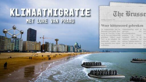 't Vrije Brein gaat live: Klimaatmigratie met Lore Van Praag