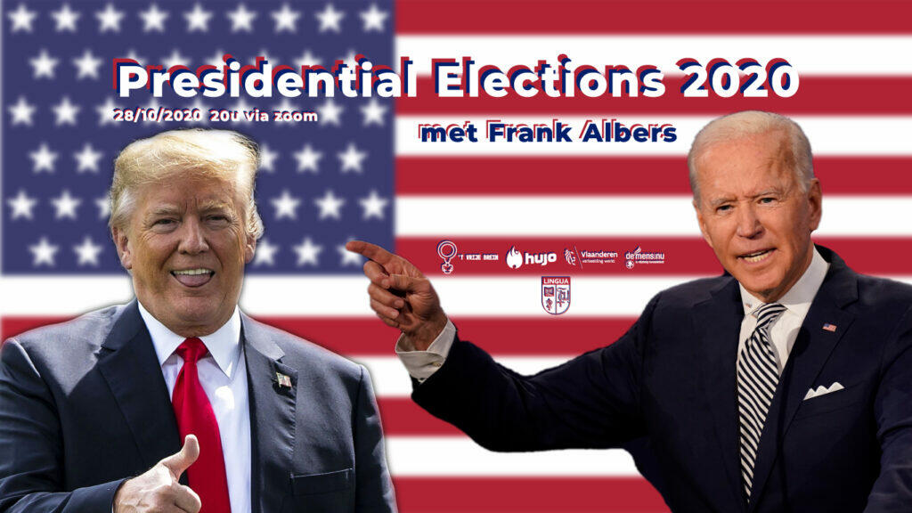T Vrije Brein en Lingua gaan live: Presidential Elections 2020