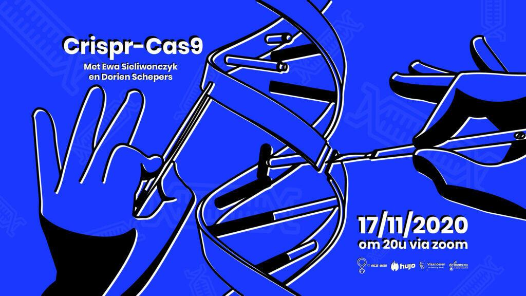 't Vrije Brein gaat live: Genetische manipulatie (CRISPR-Cas9)